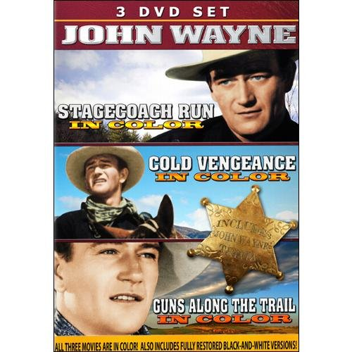 John Wayne In Color: Cold Vengeance / Guns Along The Trail / StageCoach Run