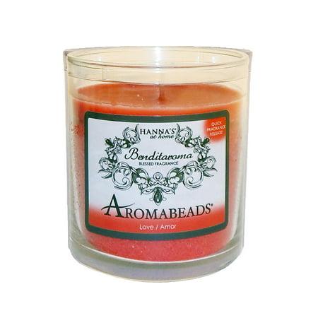 Hanna's Jar Candle Tumbler 6 Oz Aromabeads