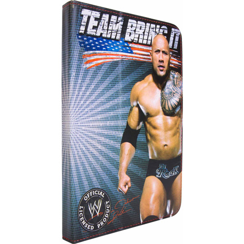 "7"" Portfolio Case for Tablet PCs, WWE"