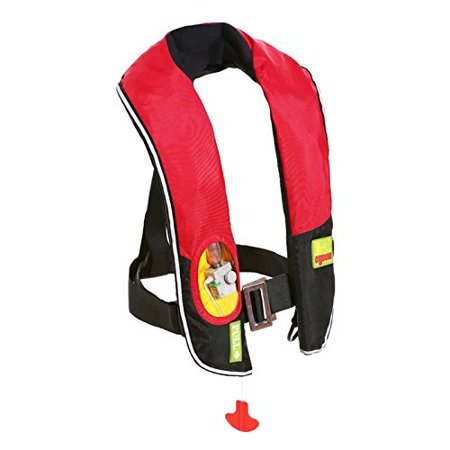 Premium Manual Inflatable Life Jacket Lifejacket PFD Life Vest Flotation Suit Inflate Survival Aid Lifesaving PFD NEW Red - Cheap Inflatable Suits