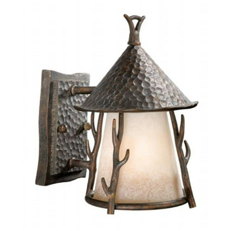 Woodland 7 in. Outdoor Wall Light - Autumn