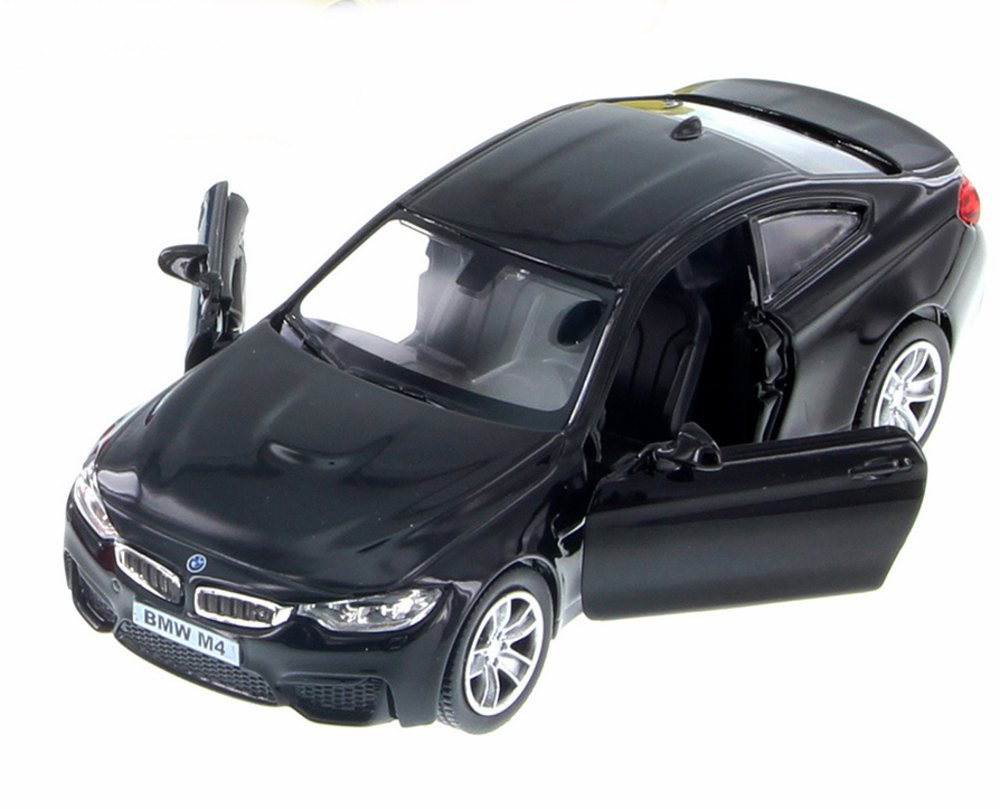 """5/""""  BLUE DIE CAST CAR BMW M4 COUPE, NEW /""""555035/"""""""