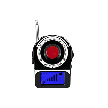 Personal Rf Detector (Multi-functional Full-range RF Wireless Signal Radio Detector Camera Auto-detection Tracer Finder 1MHz-6.5GHz Range Adjustable)