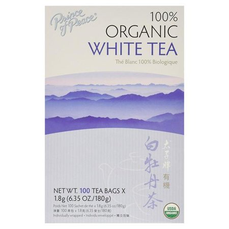 Organic White Tea Prince Of Peace 100 Bag
