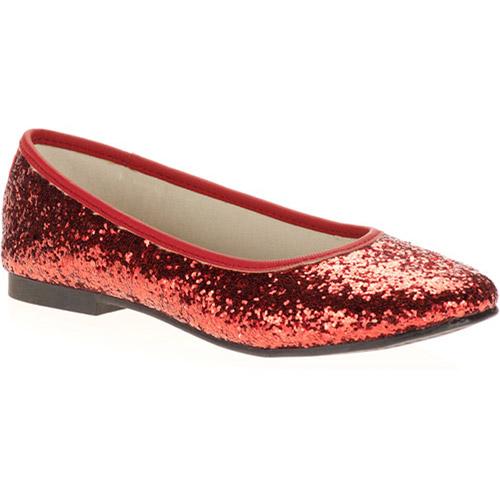 Girls' Dazzle Glitter Flats