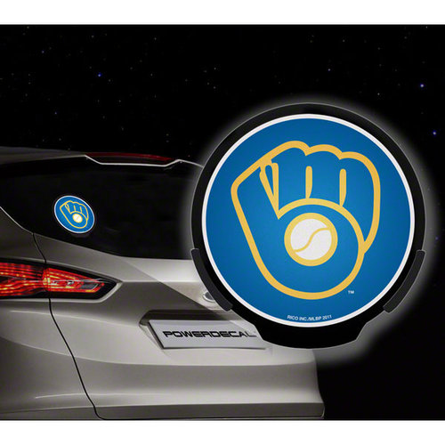 MLB - Milwaukee Brewers Power Decal: Light Up Decal