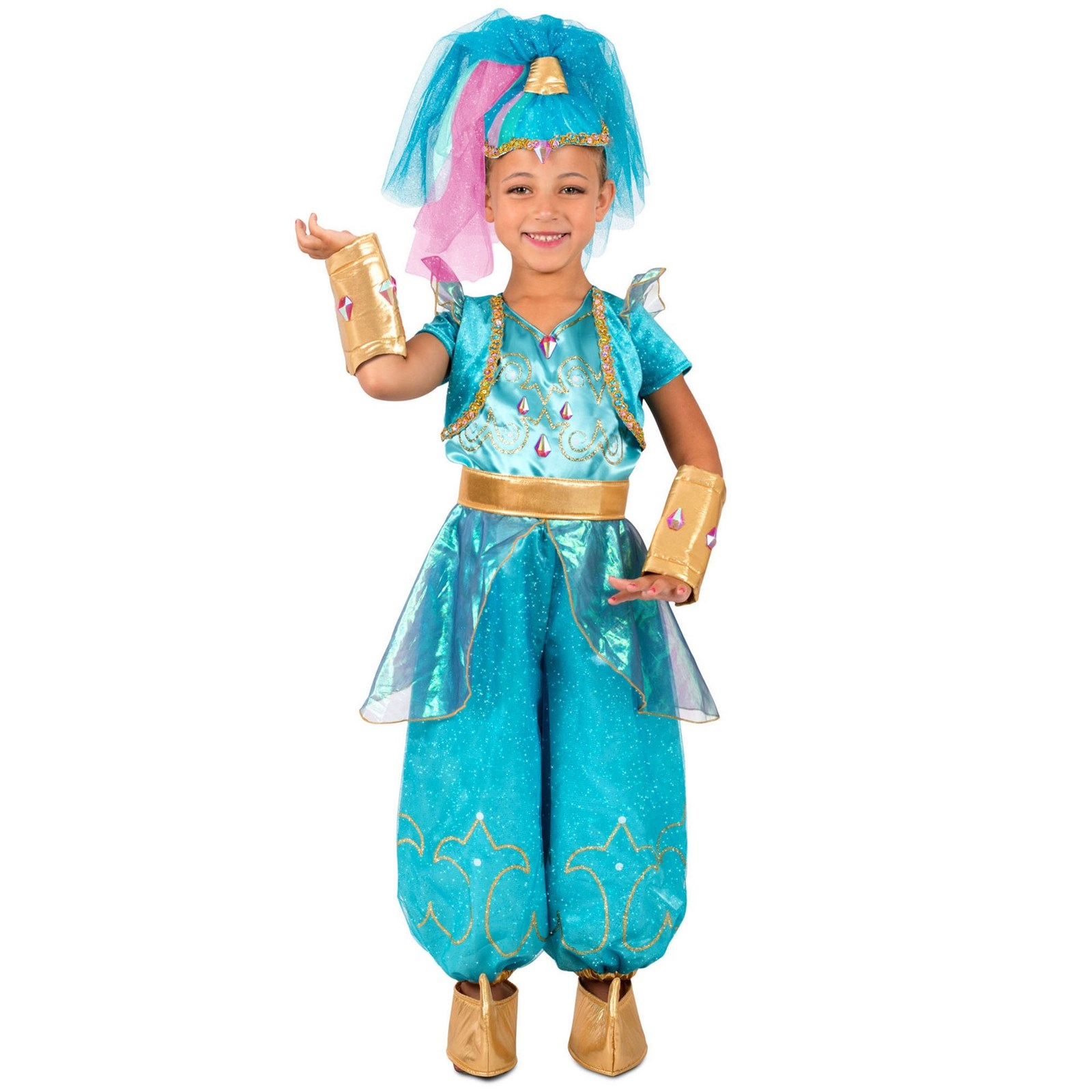 Shimmer And Shine Girls Genies Dress