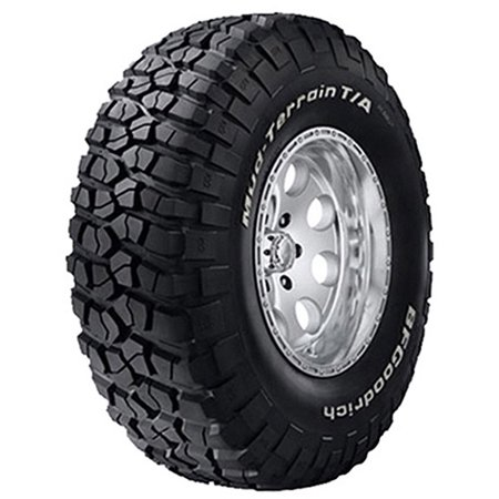 BFGoodrich Mud-Terrain T/A KM2 Off-Road Tire LT245/70R17/E (Best Looking Off Road Tires)