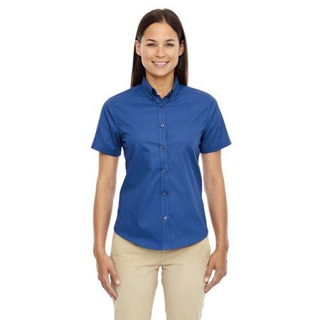 Ash City - Core 365 Ladies' Optimum Short-Sleeve Twill Shirt - image 1 of 1