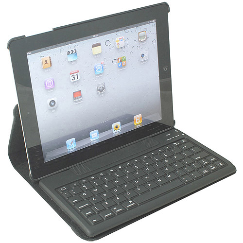 2COOL Duo-View iPad Case with Bluetooth Keyboard, Assorted Colors