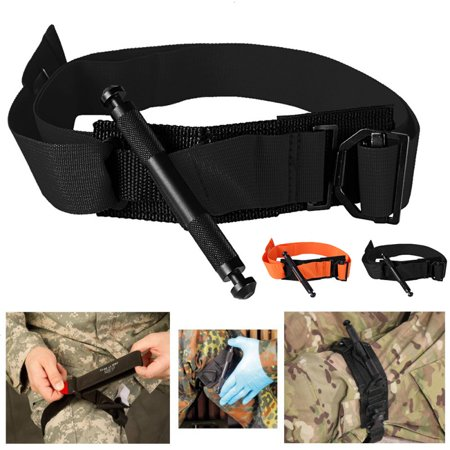 - Portable First Aid Medical Quick Release Buckle Military Tactical Emergency Tourniquet Strap One Hand Outdoor