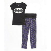 DC Comics Batman Yoga Pajama Set