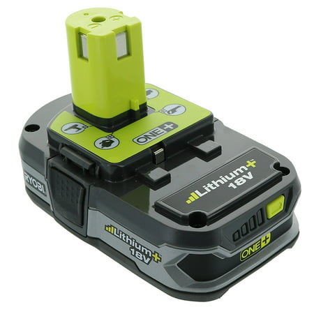 Ryobi P107 One+ 18 Volt Compact Lithium Ion 1.5 Ah Battery (Single