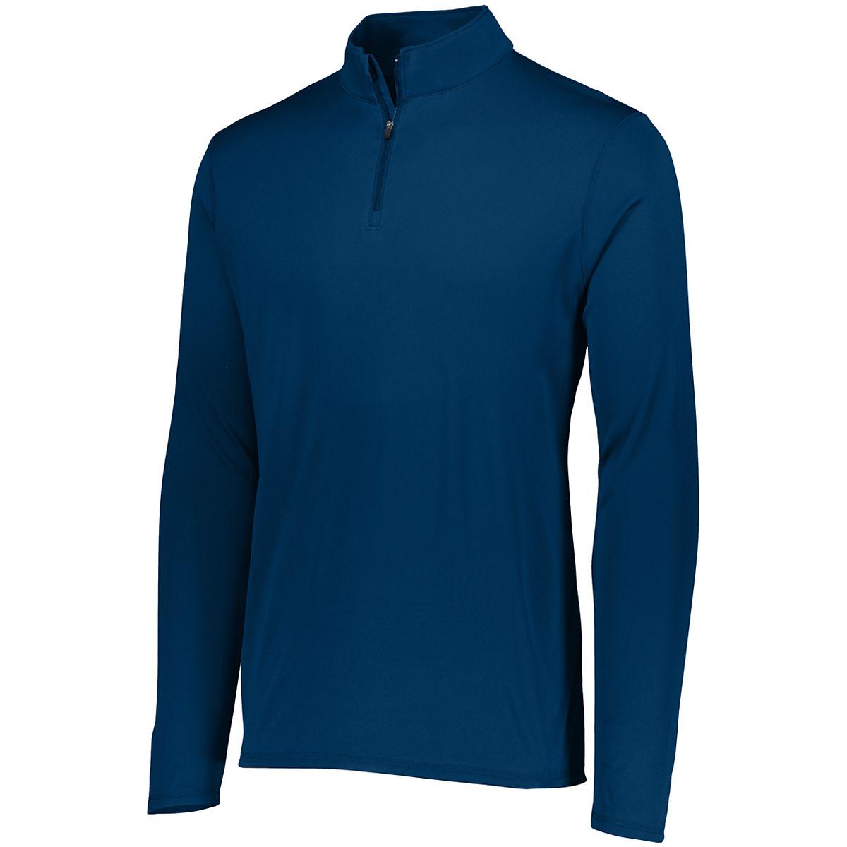 Augusta Youth Attain 1/4 Zip Pullover Navy S - image 1 de 1