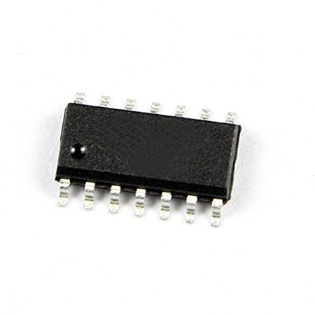 (10PCS) MC74HC00AD IC GATE NAND QUAD 2INP 14-SOIC HC00 74HC00 - 74HC00D