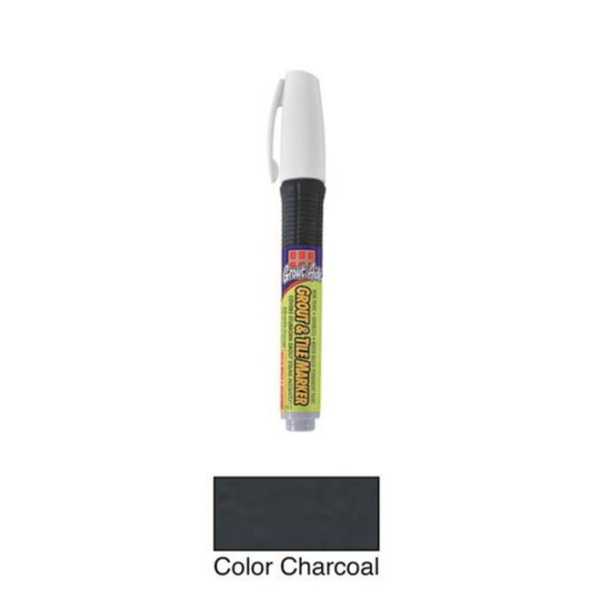 Grout-Aide 05098 Pump Action Pen, Charcoal - Pack of 6