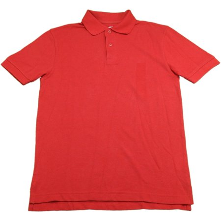 Arrow Boys Size Large (12/14) Approved Schoolwear Short Sleeve Polo, Red (Boys Red Polo)