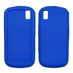 Blue Soft Silicone Gel Skin Cover Case for Samsung Instinct S30 M810