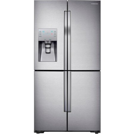 Samsung RF23J9011SR 36; Counter Depth 4-Door Flex French Door Refrigerator with Cool Select Plus 23 cu. ft.