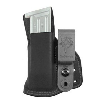DeSantis Hidden Cache Mag Pouch for Glock, Para, and HK Models, Black,
