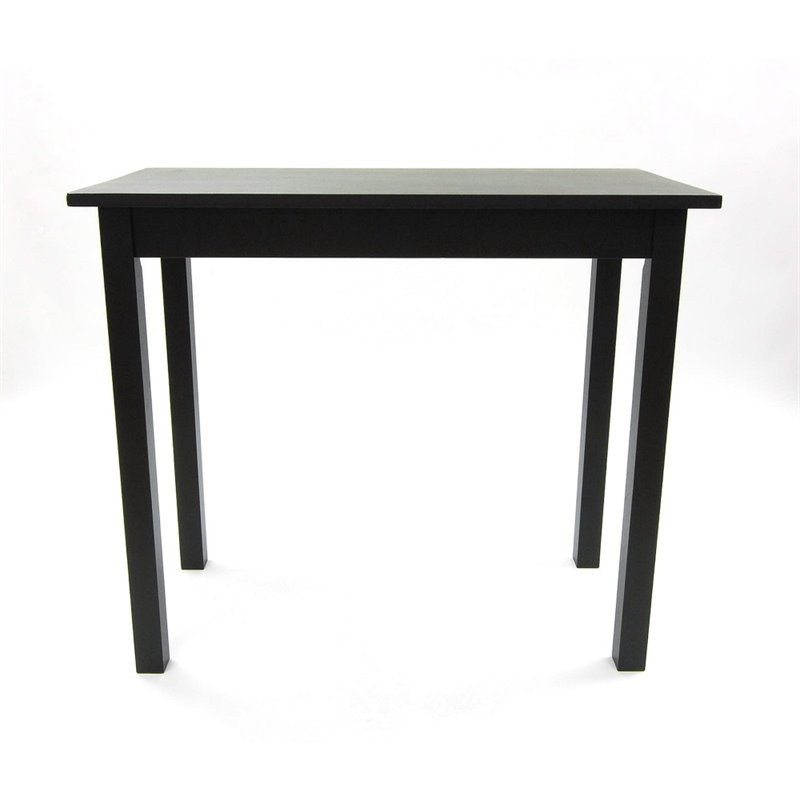 Carolina Classics Noah Pub Pub Table in Antique Black by Carolina Classic