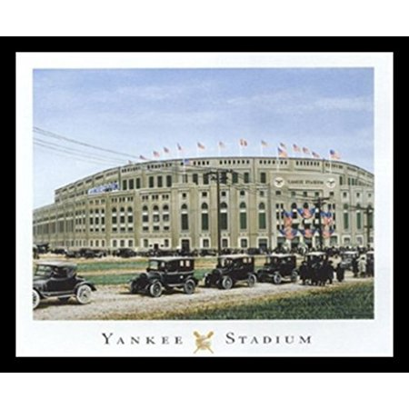 buyartforless Framed  Yankee Stadium By Darryl Vlasak Art Print poster, 16 X 20