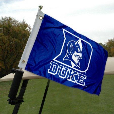 Duke Blue Devils Framed - Duke University Golf Cart Flag