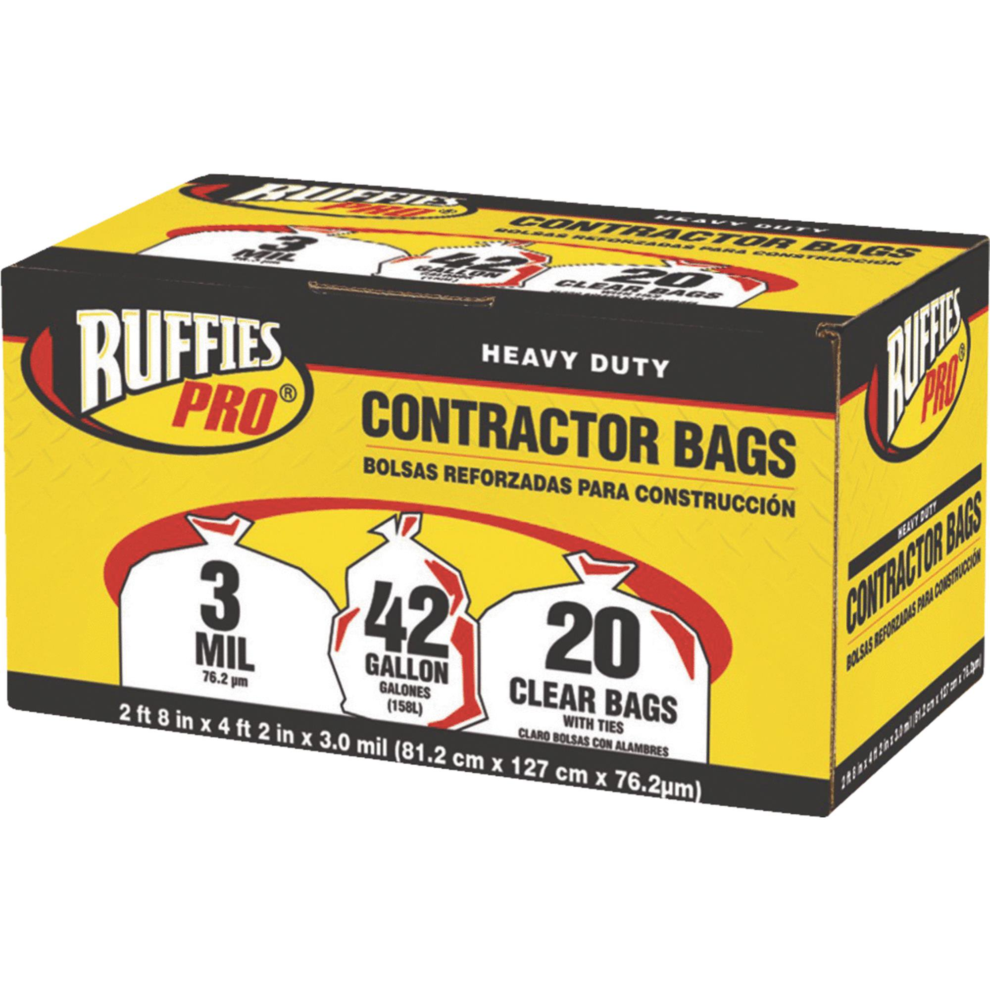 Ruffies Contractor Trash Bag