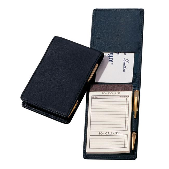 Royce Leather 710-BLACK-5 Deluxe Flip Style Note Jotter - Black - image 1 of 1
