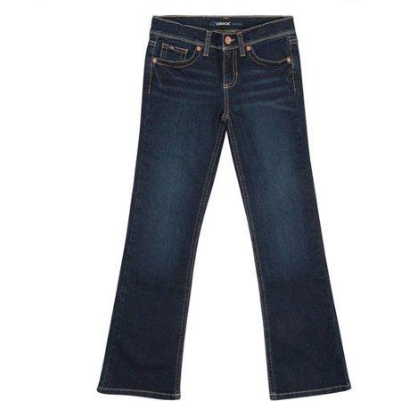 Jordache Girl's Bootcut Denim Jean, Plus Fit
