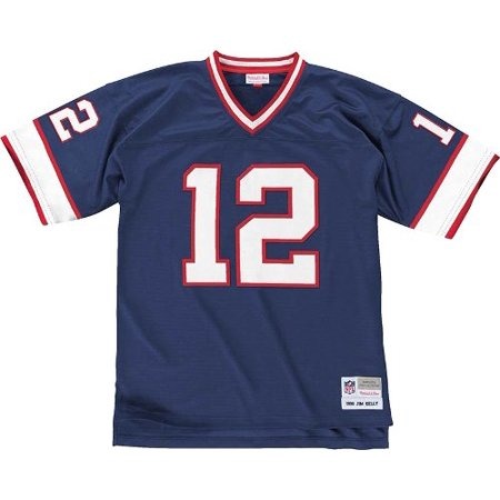 932a903ad13 ... Jim Kelly Buffalo Bills Mitchell Ness Throwback Premier Jersey - Blue  ...