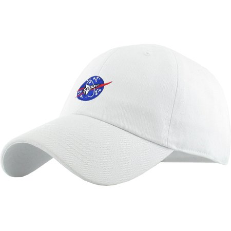 9a146da4c7c KBETHOS - Spaceship White Dad Hat Baseball Cap Polo Style Adjustable NASA  Galaxy Alien UFO Face ET E.T. Saucer Rocket Planets Earth Mars Moon -  Walmart.com
