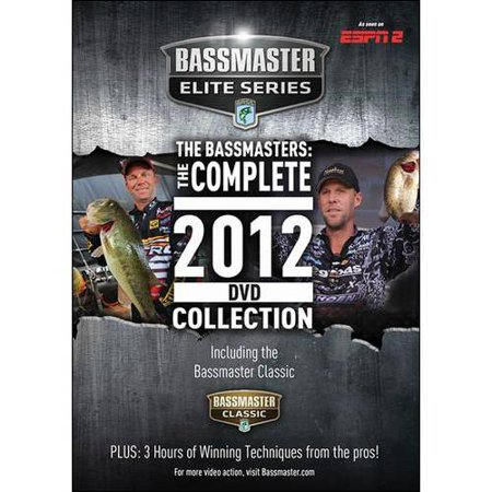 The Bassmasters  The Complete 2012 Dvd Collection