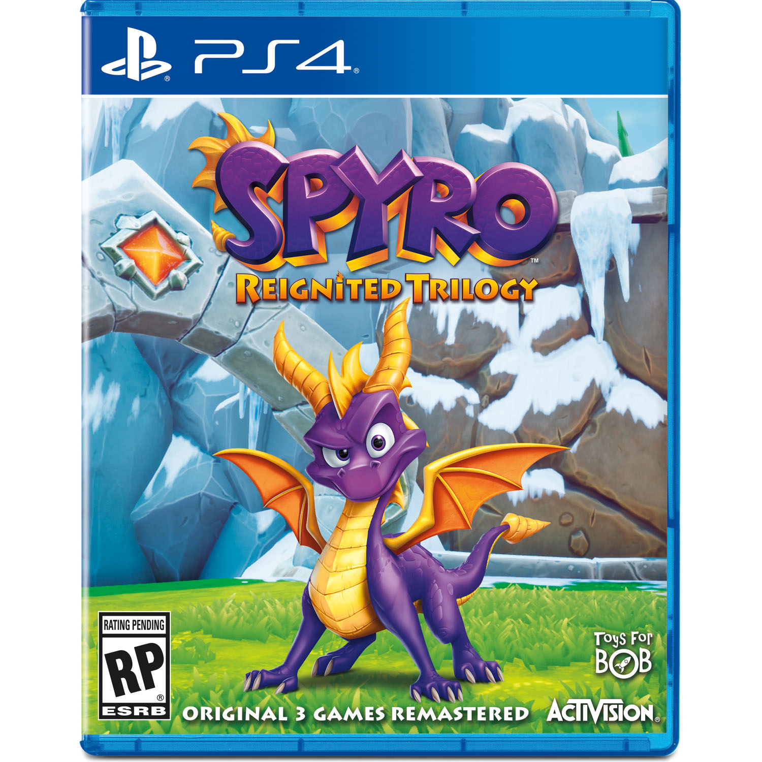 Spyro Reignited Trilogy, Activision, PlayStation 4, 047875882379 by Activision