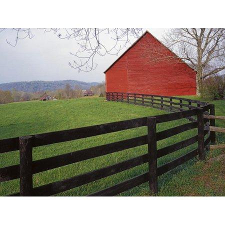 Barn Near Etlan, Virginia, USA Farmhouse Country Landscape Photography Print Wall Art By Charles Gurche ()
