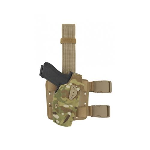 Click here to buy Safariland 6354DO Tactical Holster, Glock 34, 35 , Cord Multi-Cam, Right Hand, 6.
