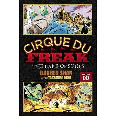 Cirque Du Freak: The Manga, Vol. 10 : The Lake of