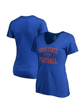 Boise State Broncos Fanatics Branded Women's First Sprint V-Neck T-Shirt - Royal