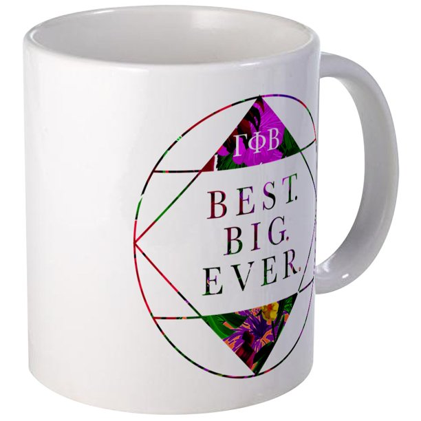 CafePress - Gamma Phi Beta Best Big - Unique Coffee Mug ...