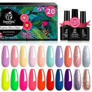 Best Nail Kits - Beetles 20 Pcs Gel Nail Polish Kit, Spring Review