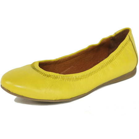 Cut Out Leather Shoe - Alpine Swiss Women's Vera Ballet Flats European Made Shoes Leather Inside & Out