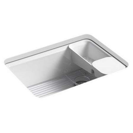 Kohler K8668 5UA2 Undermount Single Basin Kitchen Sink with Accessorie