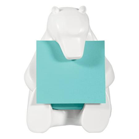 Note Pad Dispenser (Post-it® White Bear Dispenser Pop-up Note Dispenser (bear330))