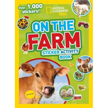 - National Geographic Kids on the Farm Sticker Activity Book: Over 1,000 Stickers!
