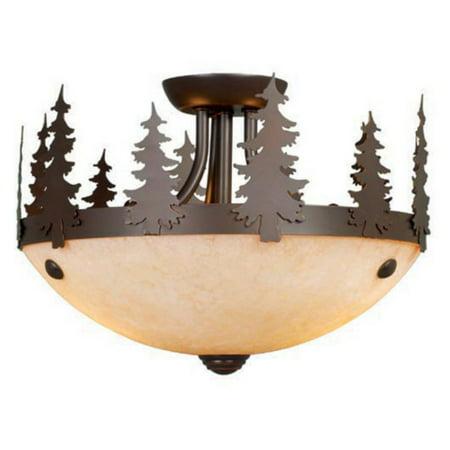 Burnished Gold One Light - AireRyder LK55512BBZ-C Yosemite 11.5 in. Light Kit - Burnished Bronze