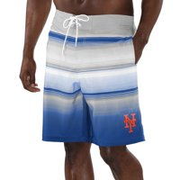New York Mets G-III Sports by Carl Banks Defense Swim Trunks - Royal