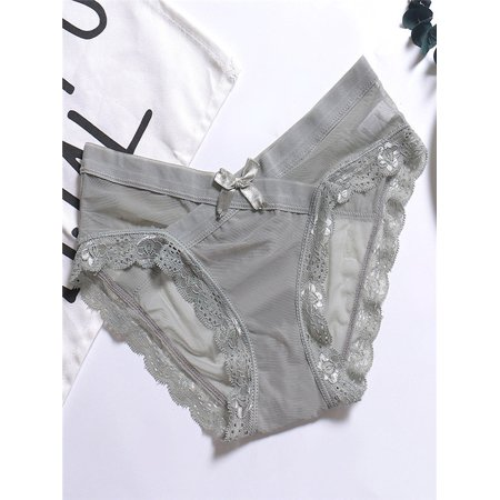 2b4e4674d Women Cute Letter Panties Thongs Underwear Seamless Briefs Lingerie -  Walmart.com