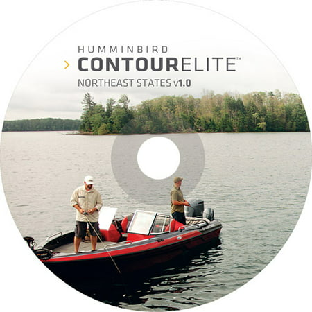 Humminbird Contour Elite Northeastern States PC Software