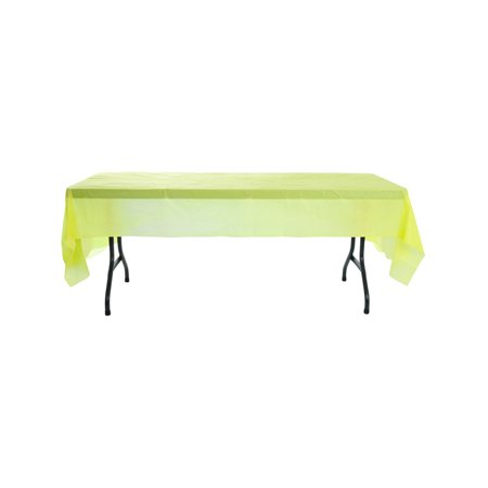 Yellow Birthday Halloween Party Decoration Plastic Table Cloth - Having Birthday On Halloween