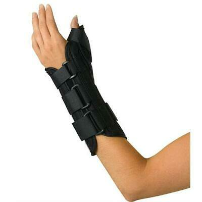 ORT18210LM Wrist and Forearm Splint with Abducted Thumb,Medium, 1/EA Medline Wrist Splint